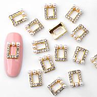abordables Maquillaje y manicura-10pcs Elegante Joyería de uñas Torta de Joyas / Nail Art Forms