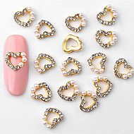 abordables Maquillaje y manicura-10pcs Elegante Joyería de uñas Nail Art Forms