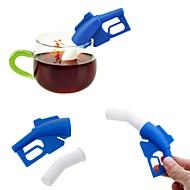 お買い得  キッチン&ダイニング-シリコーン クリエイティブキッチンガジェット 燃料銃 1個 ストレーナー / 茶こし