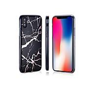 Недорогие Кейсы для iPhone 8-Кейс для Назначение Apple iPhone 8 / iPhone 8 Plus Покрытие / IMD / Ультратонкий Кейс на заднюю панель Мрамор Мягкий ТПУ для iPhone X /