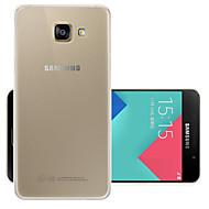 Недорогие Чехлы и кейсы для Galaxy A5(2016)-Кейс для Назначение SSamsung Galaxy A5(2016) Прозрачный Кейс на заднюю панель Однотонный Мягкий ТПУ для A5(2016)