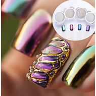 economico Make up e cura delle unghie-4pcs Polvere di glitter Effetto dello specchio Glitter per unghie Patinata Matrimonio Serata / evento Nail Art Design