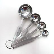 お買い得  キッチン用小物-キッチンツール ステンレス 測定器 スプーン 調理器具のための 4本