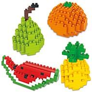 preiswerte Spielzeuge & Spiele-Bausteine 4pcs Zeichentrick / Frucht Tiere Geschenk