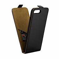 Недорогие Кейсы для iPhone 8-Кейс для Назначение Apple iPhone 8 / iPhone 7 IMD Чехол Однотонный Мягкий Кожа PU для iPhone 8 / iPhone 7