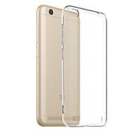 abordables Ofertas Diarias-Funda Para Xiaomi Redmi 5A Transparente Funda Trasera Un Color Suave TPU para Redmi 5A