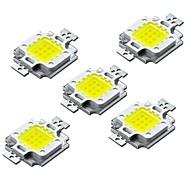 お買い得  -ZDM® 5個 ハイパワーLED バルブアクセサリー LEDチップ アルミ / 純金ワイヤーLED DIY LEDフラッドライトスポットライト用 10W