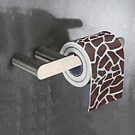 お買い得  -トイレットペーパーホルダー 高品質 伝統風 ステンレス鋼 1個 - 浴室 壁式