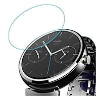 Недорогие Защитные пленки для смарт-часов-Защитная плёнка для экрана Назначение Motorola / Мото 360 Закаленное стекло Взрывозащищенный / Уровень защиты 9H / HD 1 ед.