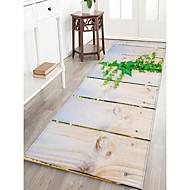 abordables Alfombras y moquetas-Felpudos / Las alfombras de área Casual / Campestre Franela de Algodón, Rectángulo Calidad superior Alfombra / Antideslizante