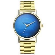 abordables Relojes de Moda-Hombre / Mujer Reloj de Moda Chino Cronógrafo Acero Inoxidable Banda Moda Dorado