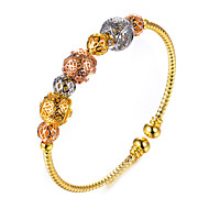 cheap -Women's Gold Plated Cuff Bracelet - Metallic / Ethnic Circle Gold Bracelet For Party / Gift