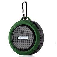 お買い得  スピーカー-C6 Bluetoothスピーカー / 防水 ブルートゥース 2.1 TFカードスロット アウトドアスピーカー オレンジ / レッド / ブルー