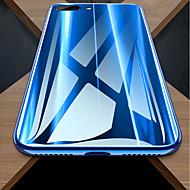Недорогие Кейсы для iPhone 8-Кейс для Назначение Apple iPhone X / iPhone 8 Защита от удара / Зеркальная поверхность Кейс на заднюю панель Однотонный Твердый