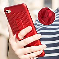 Недорогие Кейсы для iPhone 8 Plus-Кейс для Назначение Apple iPhone X / iPhone 8 со стендом Кейс на заднюю панель Однотонный Мягкий ТПУ для iPhone X / iPhone 8 Pluss /