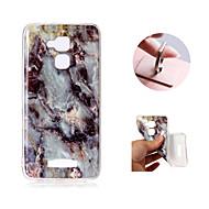 preiswerte Handyhüllen-Hülle Für Asus Zenfone 3 Max ZC520TL Muster Rückseite Marmor Weich TPU für Asus Zenfone 3 Max ZC520TL