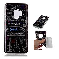 Недорогие Чехлы и кейсы для Galaxy S9-Кейс для Назначение SSamsung Galaxy S9 Plus / S9 С узором Кейс на заднюю панель Мрамор Мягкий ТПУ для S9 / S9 Plus