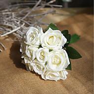 Keinotekoinen Flowers 9 haara Juhla Häät Ruusut Eternal Flowers Pöytäkukka