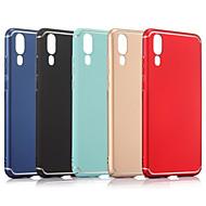 voordelige Mobiele telefoonhoesjes-hoesje Voor Huawei P20 Pro / P20 Mat Achterkant Effen Hard PC voor Huawei P20 lite / Huawei P20 Pro / Huawei P20