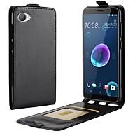 お買い得  携帯電話ケース-ケース 用途 HTC U11 Life / HTC Desire 12 カードホルダー / フリップ フルボディーケース ソリッド ハード PUレザー のために HTC U11 plus / HTC U11 Life / HTC U11