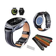 Недорогие Часы для Samsung-Ремешок для часов для Gear Sport / Gear S2 Classic Samsung Galaxy Спортивный ремешок Натуральная кожа Повязка на запястье