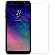 お買い得  Samsung 用スクリーンプロテクター-スクリーンプロテクター のために Samsung Galaxy A6+ (2018) 強化ガラス / PET 1枚 フロント&カメラレンズプロテクター ハイディフィニション(HD) / 硬度9H / 防爆