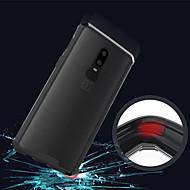 お買い得  携帯電話ケース-ケース 用途 OnePlus OnePlus 6 / OnePlus 5T 半透明 バックカバー ソリッド ハード アクリル のために OnePlus 6 / One Plus 5 / OnePlus 5T