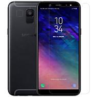 Недорогие Чехлы и кейсы для Galaxy A-Nillkin Защитная плёнка для экрана для Samsung Galaxy A6 (2018) Закаленное стекло / PET 1 ед. Протектор объектива спереди и камеры HD / Уровень защиты 9H / Взрывозащищенный