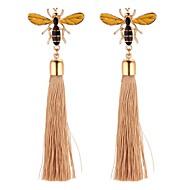 cheap -Women's Long Drop Earrings - Bee Vintage, Cartoon, Fashion Gold For Wedding / Party / Evening