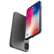 Недорогие Кейсы для iPhone 8-Кейс для Назначение Apple iPhone X / iPhone 8 Матовое Кейс на заднюю панель Однотонный Твердый ПК для iPhone X / iPhone 8 Pluss / iPhone 8
