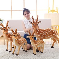 cheap Dolls & Stuffed Toys-Deer Stuffed Animal Plush Toy Animals Lovely Acrylic / Cotton Girls' Toy Gift 1 pcs