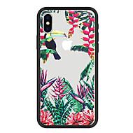 Недорогие Кейсы для iPhone 8 Plus-Кейс для Назначение Apple iPhone X / iPhone 8 Plus С узором Кейс на заднюю панель Растения / Животное / Цветы Твердый Акрил для iPhone X / iPhone 8 Pluss / iPhone 8