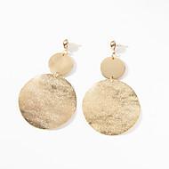 preiswerte -Damen Kronleuchter Tropfen-Ohrringe - Einfach, Europäisch, Modisch Silber / Golden Für Alltag