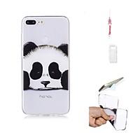 fodral Till Huawei Honor 9 Lite Genomskinlig Skal Panda Mjukt TPU för Huawei Honor 9 Lite