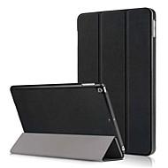 저렴한 -케이스 제품 Apple iPad (2018) / iPad (2017) 스탠드 / 플립 전체 바디 케이스 솔리드 하드 PU 가죽 용 iPad (2018) / iPad (2017)