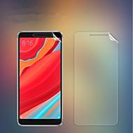 お買い得  スクリーンプロテクター-スクリーンプロテクター のために XIAOMI Xiaomi Redmi S2 PET 1枚 フロント&カメラレンズプロテクター 超薄型 / マット / 傷防止