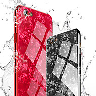Недорогие Кейсы для iPhone 8-Кейс для Назначение Apple iPhone 8 / iPhone 8 Plus Покрытие / Зеркальная поверхность Кейс на заднюю панель Мрамор Твердый Закаленное