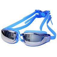abordables Deportes Acuáticos-Gafas de natación Impermeable / Anti vaho / Anti-UV Aleación Recubierto / PC Blanco / Rojo / Gris