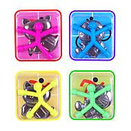 abordables Deportes y Hobbies-10 pcs Juguetes Magnéticos Minihombrecillos de goma magnéticos / Hombrecillos de goma magnéticos / Bloques de Construcción Silicona Magnética Niños Regalo
