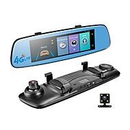 abordables DVR de Coche-Factory OEM 1080p DVR del coche 140 Grados Gran angular 12 MP 7.85 pulgada IPS Dash Cam con WIFI / GPS / Visión nocturna No Registrador de coche