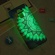 Недорогие Чехлы и кейсы для Galaxy J3(2016)-Кейс для Назначение SSamsung Galaxy iPhone X / iPhone 8 Plus / J6 Сияние в темноте / IMD / С узором Кейс на заднюю панель Мандала Мягкий ТПУ для J8 / J7 (2017) / J7 (2016)