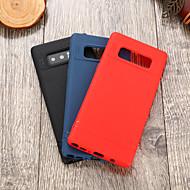Недорогие Чехлы и кейсы для Galaxy Note-Кейс для Назначение SSamsung Galaxy Note 8 IMD Кейс на заднюю панель Однотонный Мягкий ТПУ для Note 8