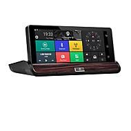 Недорогие Видеорегистраторы для авто-Factory OEM 1080p HD / Ночное видение Автомобильный видеорегистратор 140° Широкий угол 12 MP 7 дюймовый IPS Капюшон с WIFI / GPS / Ночное видение Нет Автомобильный рекордер