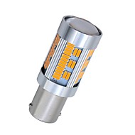 abordables Intermitentes para Coche-SO.K 2pcs 1156 Coche Bombillas 10 W SMD 4014 1800 lm 105 LED Luz de Intermitente For Universal Todos los Años
