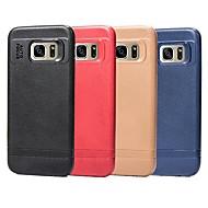 Недорогие Чехлы и кейсы для Galaxy S9 Plus-Кейс для Назначение SSamsung Galaxy S9 / S8 Ультратонкий Кейс на заднюю панель Однотонный Мягкий ТПУ для S9 / S9 Plus / S8 Plus