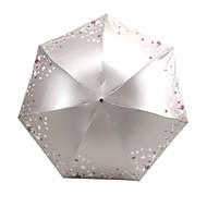 Недорогие Защита от дождя-Полиэстер / Нержавеющая сталь Жен. / Все Новый дизайн / Творчество Складные зонты