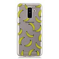 Недорогие Чехлы и кейсы для Galaxy A5(2017)-Кейс для Назначение SSamsung Galaxy A6+ (2018) / A6 (2018) Прозрачный / С узором Кейс на заднюю панель Фрукты Мягкий ТПУ для A6 (2018) / A6+ (2018) / A3 (2017)