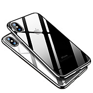 Недорогие Кейсы для iPhone 8 Plus-Кейс для Назначение Apple iPhone X / iPhone 8 Покрытие Кейс на заднюю панель Однотонный Мягкий ТПУ для iPhone X / iPhone 8 Pluss / iPhone 8