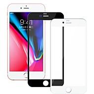 Недорогие Защитные плёнки для экранов iPhone 8-Защитная плёнка для экрана для Apple iPhone 8 Закаленное стекло 1 ед. Защитная пленка для экрана Уровень защиты 9H / 2.5D закругленные углы / Взрывозащищенный