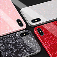 お買い得  携帯電話ケース-ケース 用途 Huawei P20 Pro / P20 lite パターン バックカバー マーブル ハード 強化ガラス のために Huawei P20 / Huawei P20 Pro / Huawei P20 lite